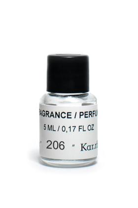 Fragrance № 206, e 5 ml